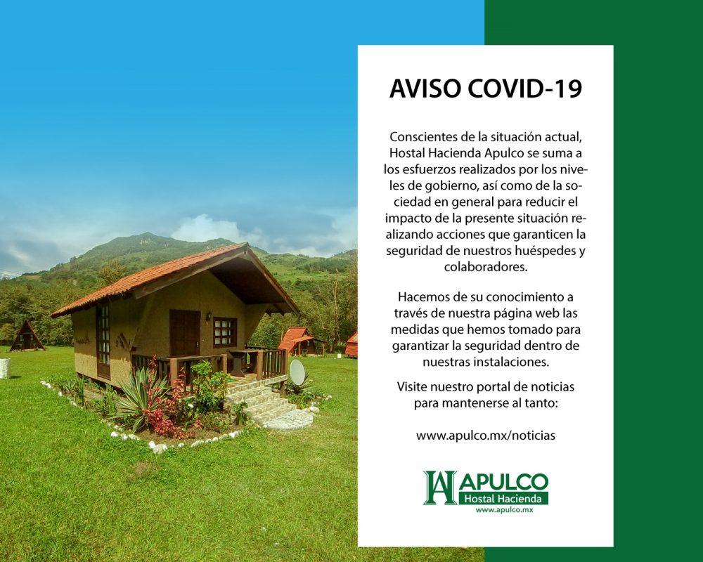 Aviso COVID-19 Aviso